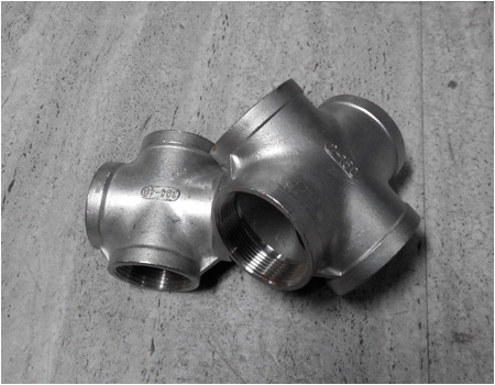 Cross Pipe Fittings, Butt Weld Cross