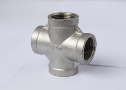 Stainless Steel Pipe Fittings - Equal Cross