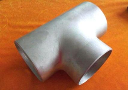 Stainless Steel Sanitary Pipe Fittings Weld Tee