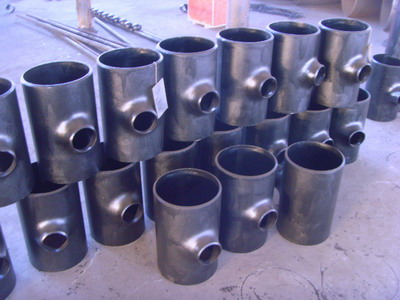Wp321 Seamless Stainless Steel Pipe Fittings Tee