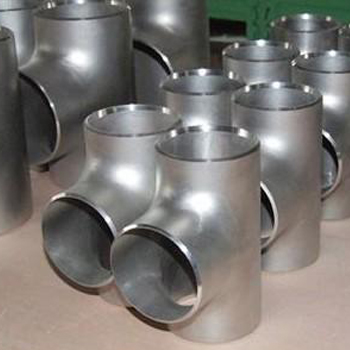 SCH40 Butt Weld Pipe Fitting Stainless Steel Tee