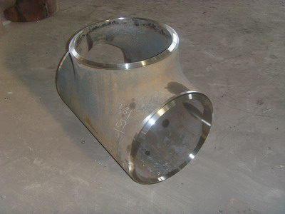 Butt Welding Equal Stainless Steel Tee