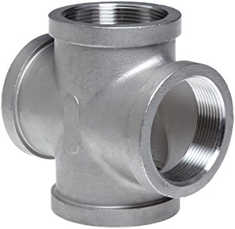 Professional Stainless Steel Butt Weld Pipe Fitting Cross