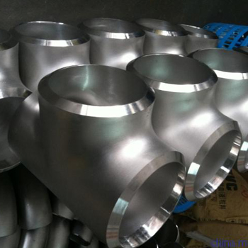 Stainless Steel Equal Butt Welded Pipe Fitting Tee