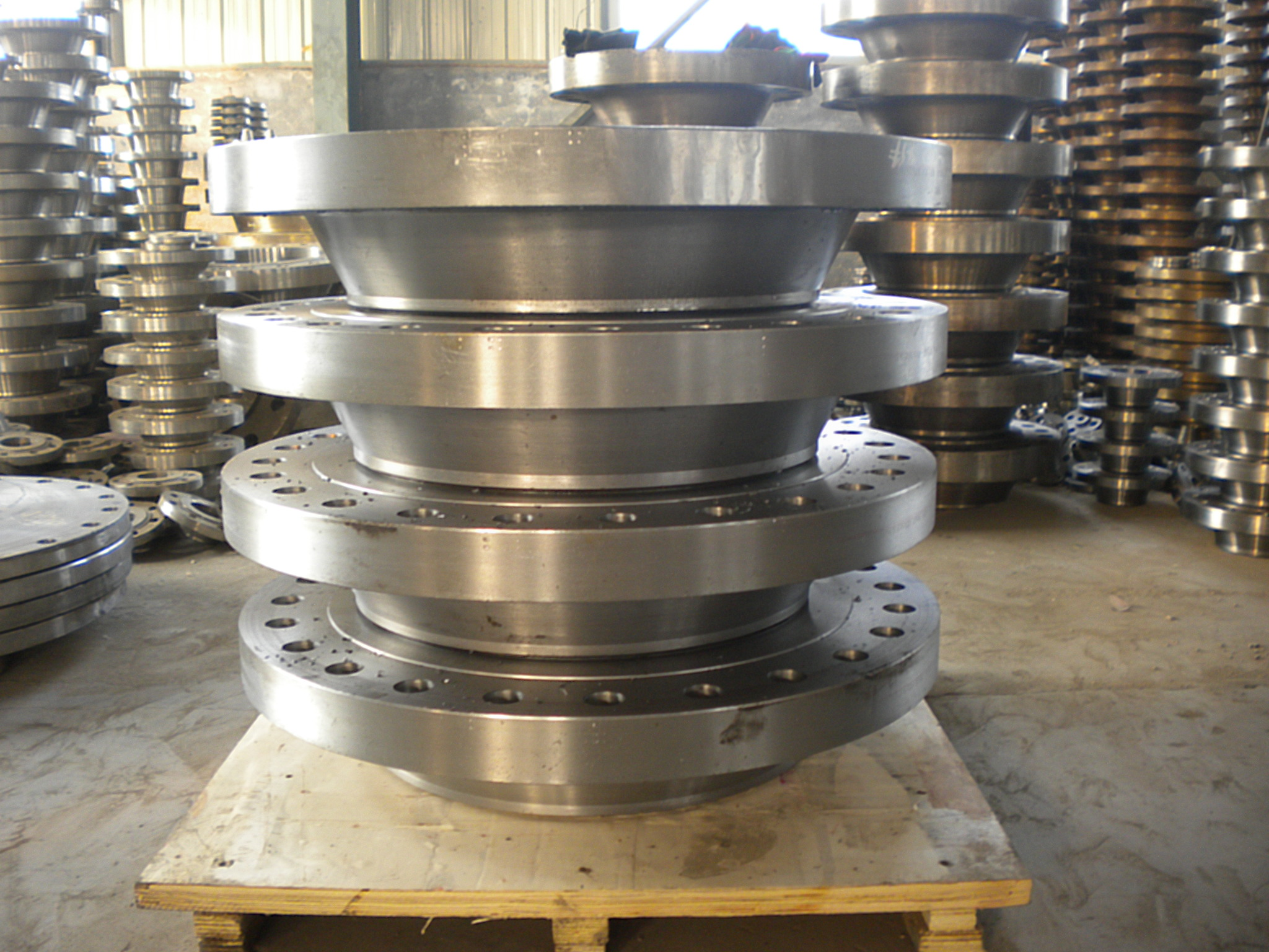 ASTM B16.5 A182 F304 Forged Stainless Steel Weld Neck Flange