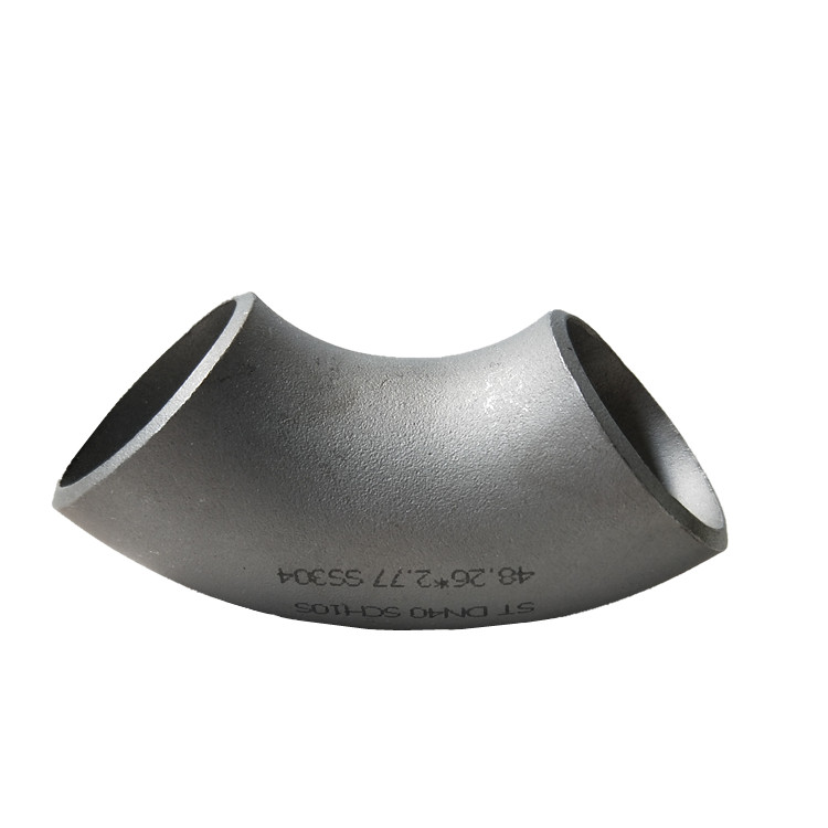 ASTM A234 Wp11 Lr 90 Degree Pipe Fitting Stainless Steel Elbow