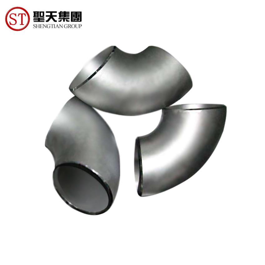 Seamless 90 degree Sr Butt Weld Pipe Fitting Stainless Steel Elbow
